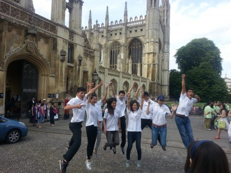 Young Changemakers from China enjoy Cambridge sights as well as social enterprise